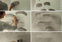 ... wall ideas ...