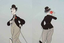 charles chaplin illustration