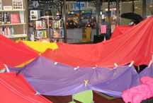 Cabin Fever! / Family Fort Night at the Library! Families make their own forts with sheets, clips, pool noodles, etc. and read together by flashlight. We also will have glow-in-the-dark ring toss, a s'mores station, fishing for rhymes, a building words Lego game!