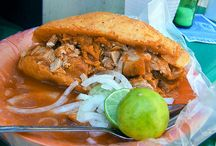 Tortas / Tortas are Mexico's version of the sandwich.
