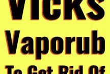 Health remedies Vicks