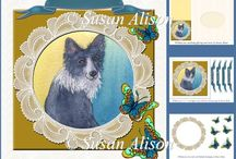 downloadable kits & craft sheets for greeting cards