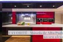 Cozinha e Móveis sob medida! / Veja + Inspirações e Dicas de decoração no blog!  www.construindominhacasaclean.com