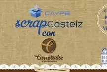 Scrap Gasteiz /  I Jornada de Scrapbooking de Vitoria-Gasteiz.  De la mano de Caype y en el marco del Palacio de Villa Suso, el próximo 4 de junio. No es un taller más, es una jornada diferente a todas en las que hayas estado.