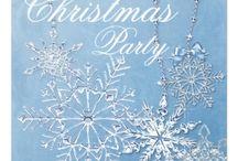 Christmas Party Invitations | Christmas Time Treasures / Awesome Christmas party invitations!
