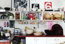 Kitchen spaces / by 4inourhouse @blogspot