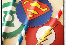Super Hero Party Ideas / Girl Scouts are super heroes! Party ideas to kick off the 2014 membership year!
