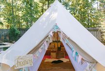 Glamping Festival Party Theme