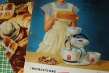 Vintage Cookbooks / Vintage cookbooks from my own collection and also those that I have for purchase in my Etsy shoppe.