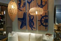 Nautical print, finishes and inspiration