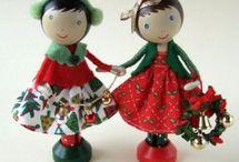 Ξύλινες κούκλες