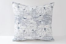 Airplane Throw Pillows / Now airplane themed nursery is complete without a good aviation pillow. Check out our favorites below!