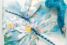 www.creationsgiselle.com / Grusskarten der besonderen Art von Hand in liebevoller Handarbeit gefertigt Kerzen-Zauber mit modern interpretierter Eleganz.  zu finden in meinem Onlineshop www.creationsgiselle.com