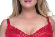 Ravishing Red / All Red, in sizes that fit.   Sizes 12-32, DD-H cups