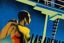 Retro Poster - Cover composition ideas
