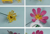 종이 꽃 공예