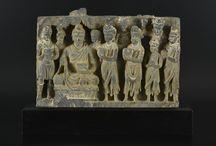 The offering bowls Buddha GANDHARA