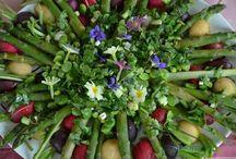 April - Dark green / La nature donne tout ce qu'elle a avec le printemps et on se régale de recette très verte