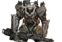 Mechs & Cyborgs