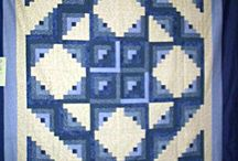 Quilts: Log Cabin / LOG CABIN / by Ruby Scott