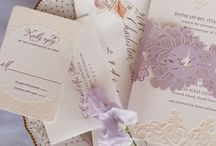 X by SHE / Lilac, lavender and blush. Flowers and candles. Feminine and soft.
