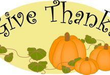 Clip Art: Thanksgiving Harvest / Harvest and traditional Thanksgiving graphics, borders and frames plus page borders and printables with harvest and thankful themes.