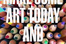 QUOTES FOR ART ENCOURAGEMENT