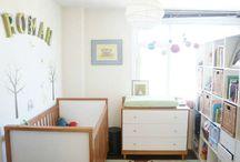 Quartos de bebê / Ideias, dicas, truques, organização, decoração e soluções práticas para quartos de bebê.