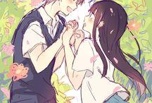 Kazehaya and Sawako♥