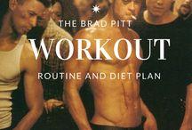 Antrenament. Brad Brad Pitt