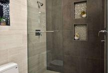 flat shower
