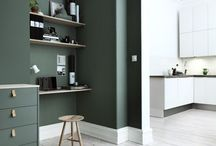 Farger vegg interiør
