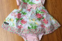 Baby Girls Dresses with matching bloomers