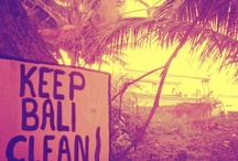 keep bali clean and green / words and deeds for this island that i love