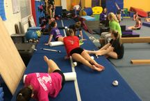 Additional / Flexibility, strenght, general shapes, food before meets, and a lot of other stuff related to gymnasitics.