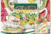 Kimberly Shaw Tea Cards / Kimberly Shaw Tea Cards are Greeting Cards with a Tea Bag tucked in.