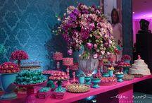 Mesa de doces- Festa de 15 anos