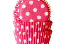 Košíčky na muffiny a cupcake / Košíčky na pečenie. #cupcake