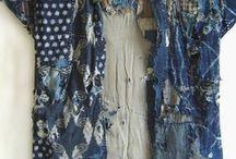 Boro Textiles Japanese stitching