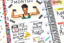 Fitness planer