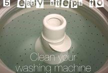 Cleaning / by Stephanie Merritt