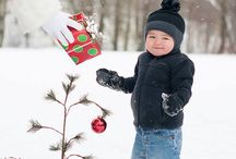 Snow christmas toddler photoswhite Christmas