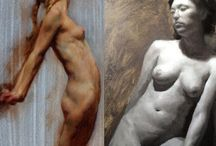 Form Painting with the Figure workshop July 2015 / Instructors Stephen Early and Darren focus on the fundamental principles essential to achieve a convincing three-dimensional representation of the human figure in oils.