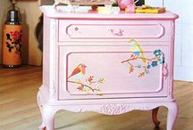 Girly Painted Furniture