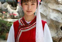 Kroje - Ázia