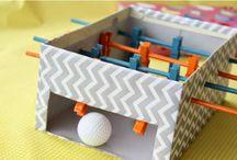 Brincadeiras infantis / Dicas de brincadeiras para fazer com as crianças.