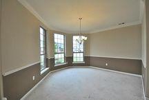 split wall color