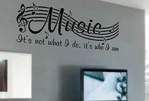 ➔wall stickers