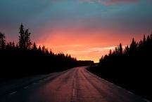 Midnight sun ,keskiyön aurinko