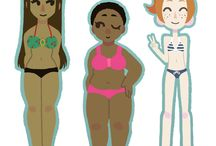 """Women: Healthy Perspectives / Body image, """"beauty"""", mental and physical health."""